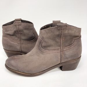 Diba True | Moon River Leather Brown Pull On Boot